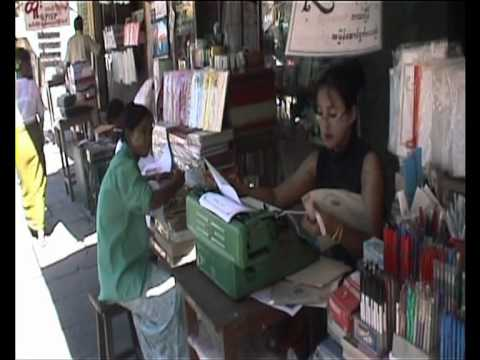 BURMA: living in Rangoon 2002