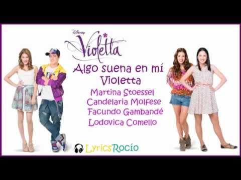Клип Violetta - Algo Suena en Mi