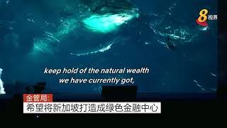 金管局:希望将新加坡打造成绿色金融中心