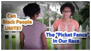 Can Black People Unite? - The Picket Fence in Our Race