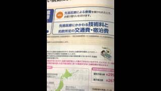長崎保険 三井住友海上あいおい生命先進医療特約