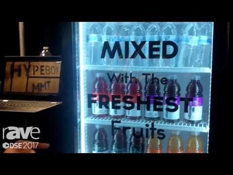 DSE 2017: MMT Highlights Transparent LCD Bottle Cooler