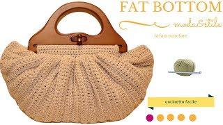Tutorial Fat Bottom Borsa Alluncinettobotton Bag Crochet