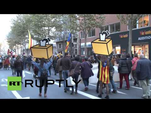 France: Protesters demand recognition of Catalan language in Perpignan
