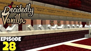 Decidedly Vanilla S5 Ep28 Decking The Halls! A Minecraft Survival Lets Play