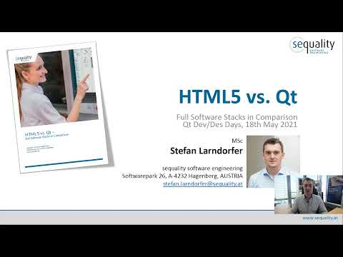 Qt vs  HTML5  – Dev/Des 2021
