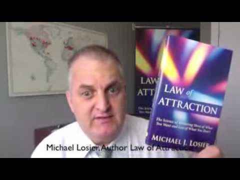 Michael Losier's weekly LIVE Hangout Show on Law of Attraction Friday's 9am PT