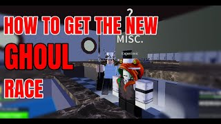 """HOW TO GET THE NEW """"GHOUL"""" RACE IN BLOX FRUITS! (UPDATE 12)"""