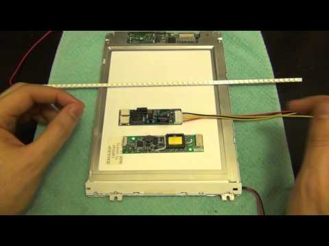 TSP #78 - LCD Screen Backlight CCFL to LED Replacement