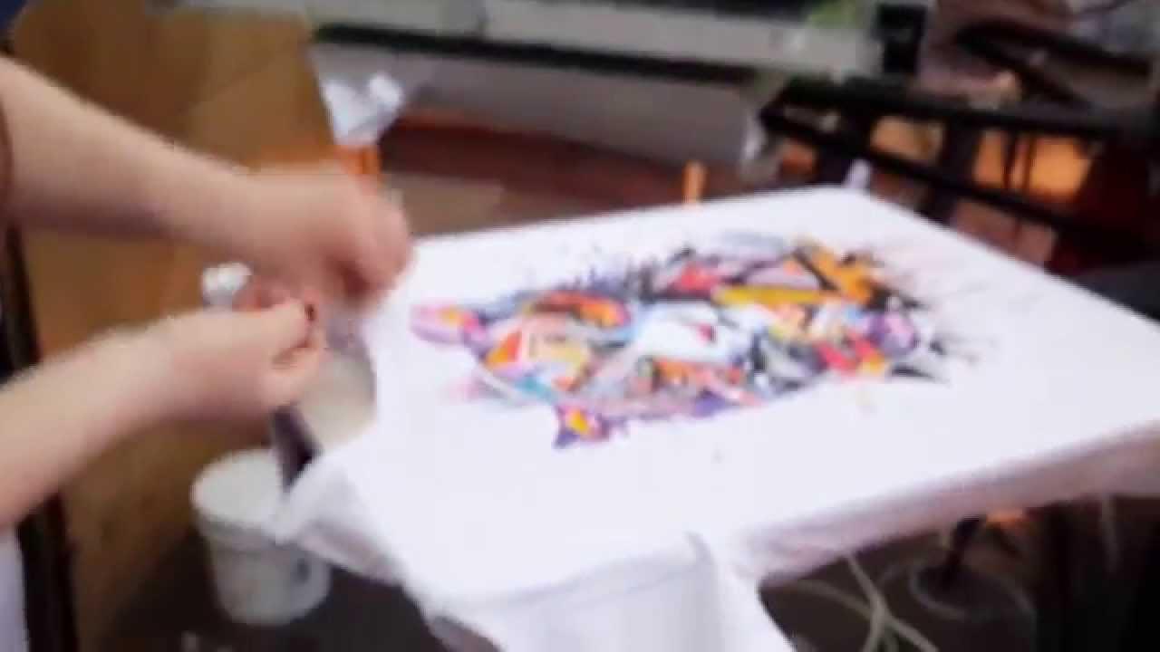 художник печать футболок