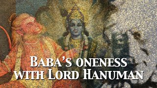 Sai Baba's Oneness with Lord Hanuman