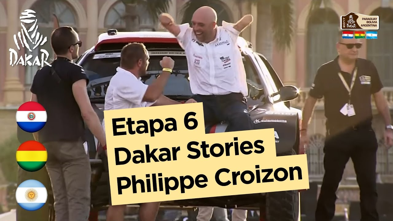 etapa 6 dakar stories philippe croizon dakar 2017 youtube. Black Bedroom Furniture Sets. Home Design Ideas