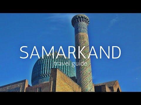 SAMARKAND Travel Guide, 5 best places in samarkand uzbekistan !!