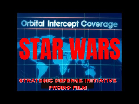 STRATEGIC DEFENSE INITIATIVE STAR WARS RONALD REAGAN 33112