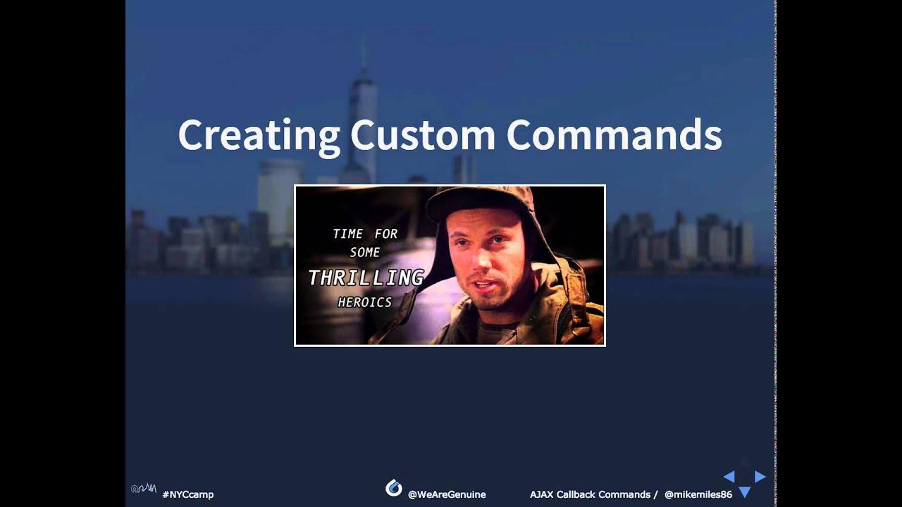 Creating AJAX Callback Commands in Drupal 8 | Mike Miles