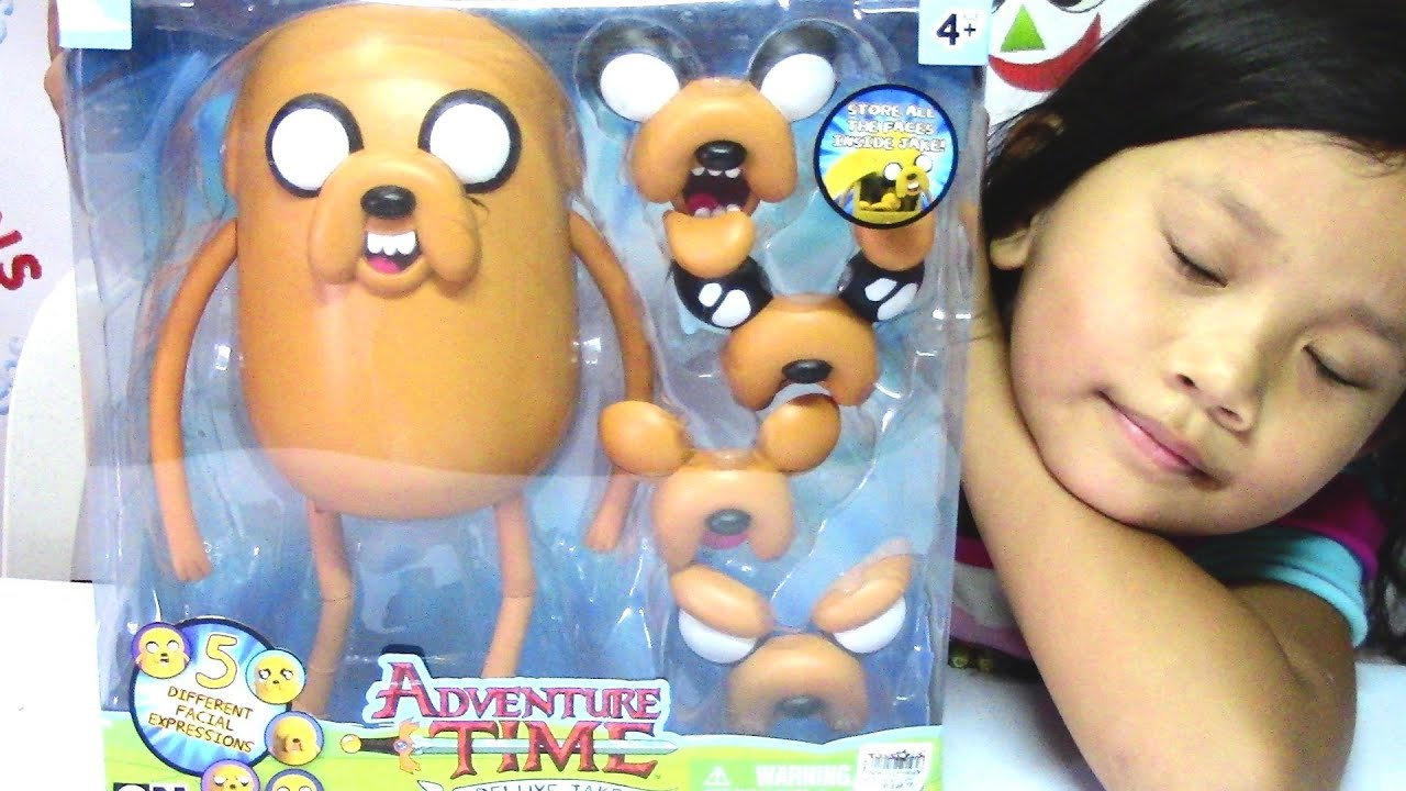Adventure Time Deluxe Jake Different Facial Expressions Cartoon Network