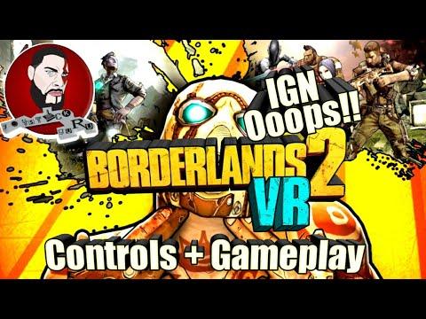 IGN School | Borderlands VR | Controls and Gameplay (PSVR/PS4Pro)  lets play, Borderlands vr thumbnail