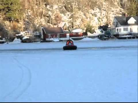 Hovercraft for Winter Cabin Access