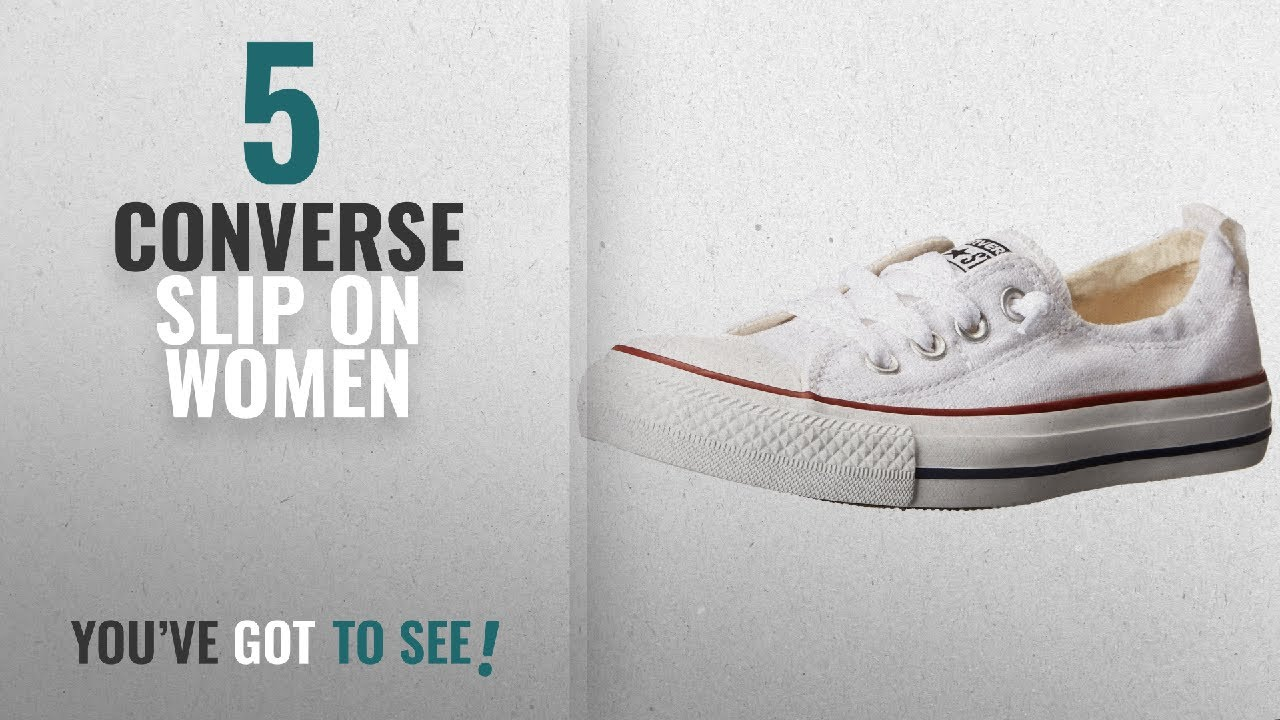 e10463d6b20d Top 5 Converse Slip On Women  2018   Converse Chuck Taylor All Star ...