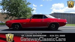 1969 Camaro Twin Turbo for sale at Gateway Classic Cars STL
