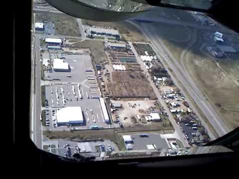 KC-135 Takeoff Boom Seat view