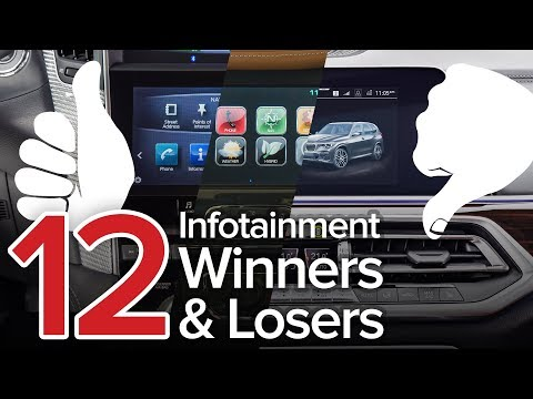 12 Infotainment System Winners and Losers: The Short List
