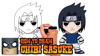 How to Draw Sasuke | Naruto