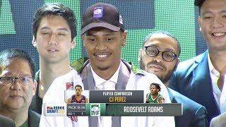 1st Round Draft Pick | PBA Rookie Draft 2019
