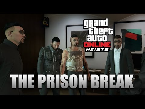 GTA Online Heists - The Prison Break Full Heist Walkthrough (GTA Online Heists Gameplay 1080p HD)