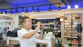 대구 뮤직랜드 트럼펫 연주ㅡ 동전 인생(진성)~~