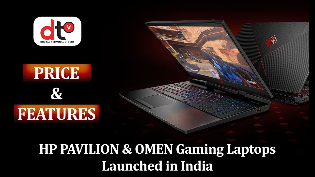 HP PAVILION & OMEN Gaming Laptop Price & Features in India