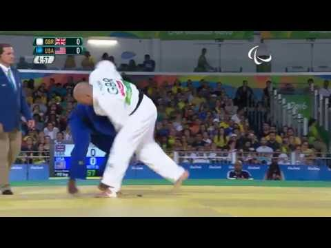 Judo | Great Britain v USA | Men's -90 kg Bronze Medal Contest A | Rio 2016 Paralympic Games