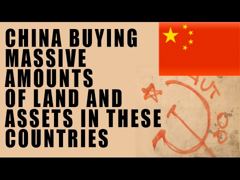 China RECORD Buying Spree of Land and Infrastructure Using S