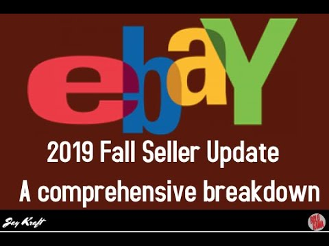 Ebay Fall 2019 Seller Update - Mid Day discussion & First look - Ecom Training w/ Jay Kraft