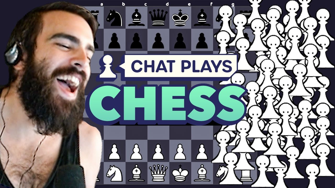Can One Streamer Beat The Collective Wisdom Of Thousands? - Chat Plays Chess