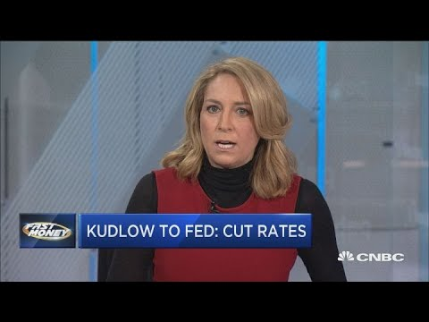 Larry Kudlow's Fed message had traders worked up