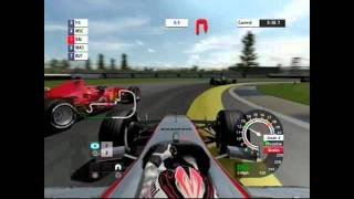 F1 Championship Edition(2007) Indianapolis Gameplay