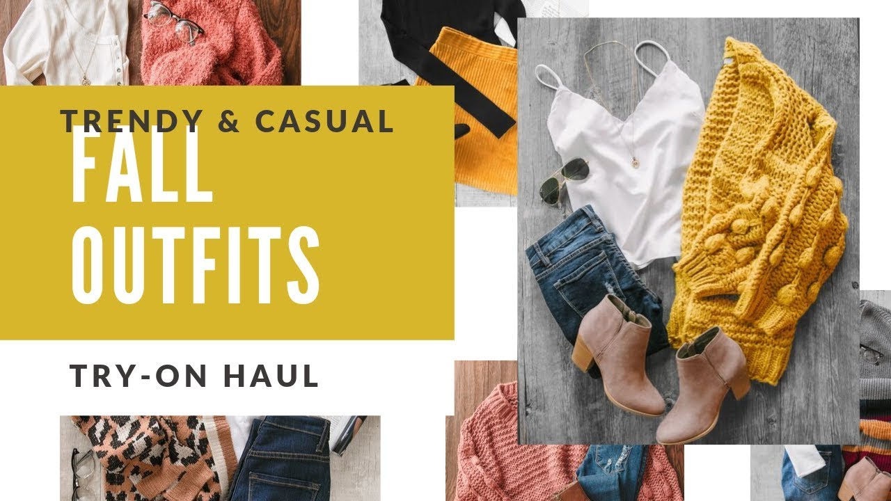 [VIDEO] - TRENDY & CASUAL FALL OUTFITS WITH BOOTS! 5