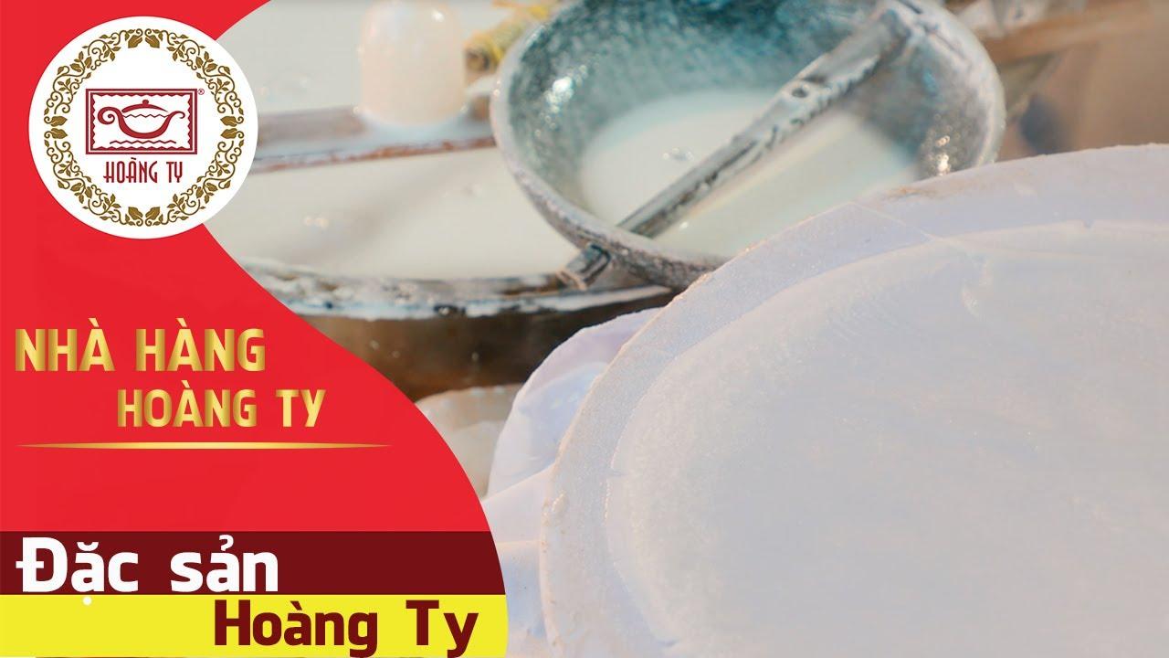 Bánh tráng trảng bàng Hoàng Ty, món ngon với cách làm bánh tráng phơi sương, rau sạch từ Tây Ninh