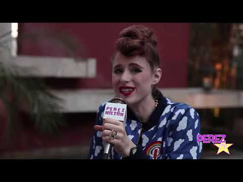 EXCLUSIVE! Kiesza Talks Her Crazy Rise In The Industry & Dishes On Hideaway With Perez Hilton!