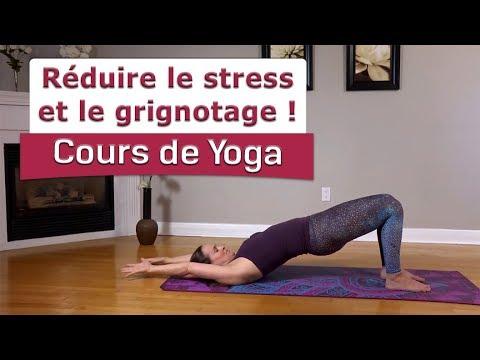 Réduire le stress et le grignotage ! Cours de yoga