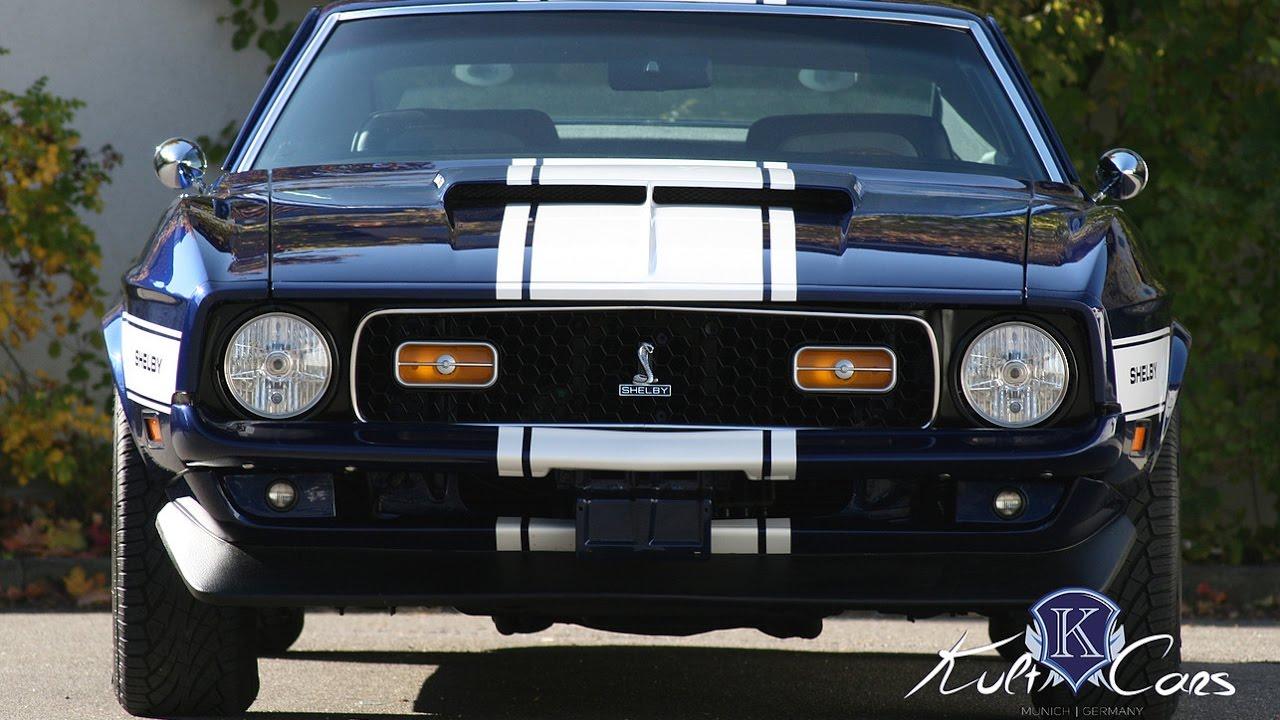 1971 Shelby Gt 350 Euroshelby Youtube