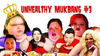 GLUTTONY KINGS AND QUEENS, Unhealthy Mukbang 3