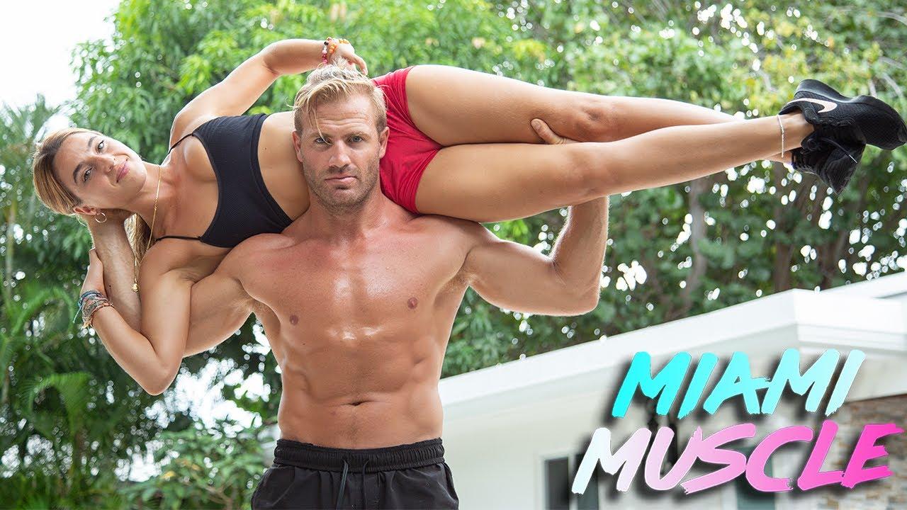 My Boyfriend Squat Lifts Me | MIAMI MUSCLE