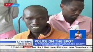Download Video 32 year old man nursing injuries after he was allegedly beaten by police officers in Nakuru MP3 3GP MP4