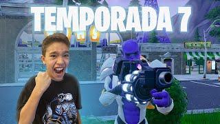 CONHECENDO O NOVO MAPA DA TEMPORADA 7 - FORTNITE