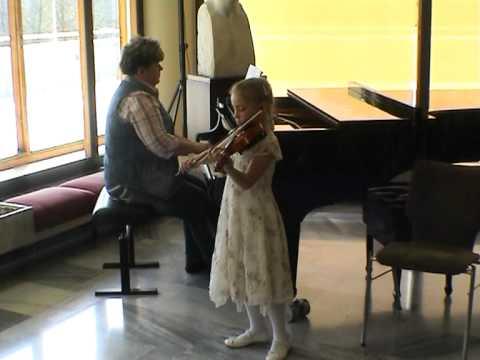 Violinkonzert Friedrich Seitz Op. 13 G-Dur 1.Allegro non troppo