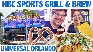 NBC Sports Grill and Brew - Universal Orlando Resort!