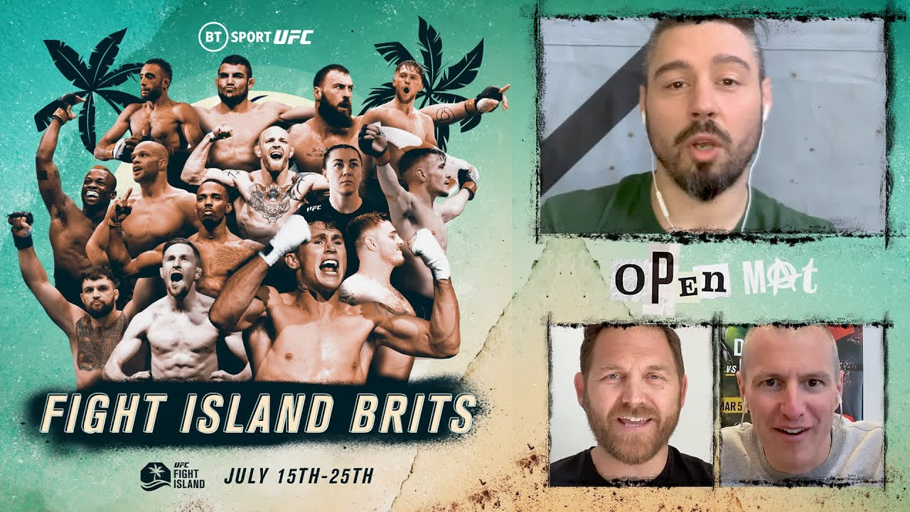 Which of the 15 UK fighters on UFC Fight Island do you need to watch out for? Dan Hardy's Open Mat