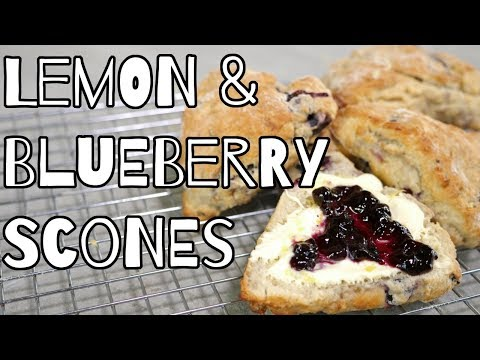 Lemon Blueberry Scones Recipe   My Virgin Kitchen